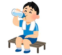脳に酸素を送り届ける水
